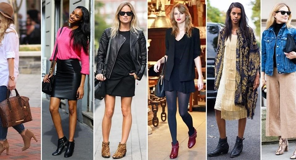 How to wear the ankle boots: Style Tips!