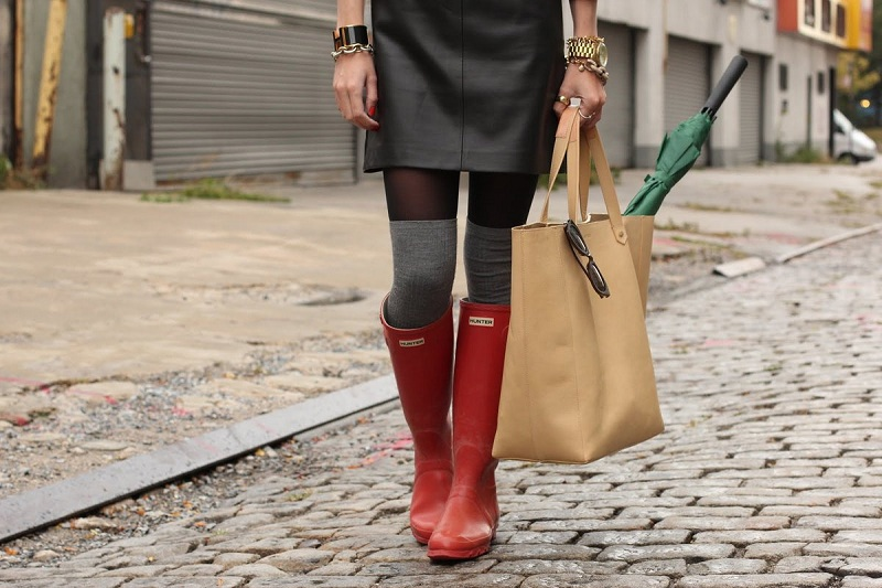 What Are The Black Knee Socks Above The Knee?