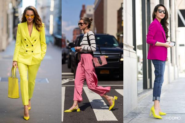 How to wear yellow shoes