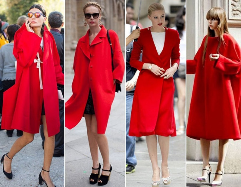 Wear red in holidays