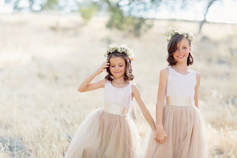 How to dress your children for a wedding