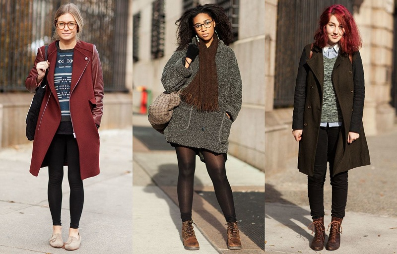 How to dress in winter