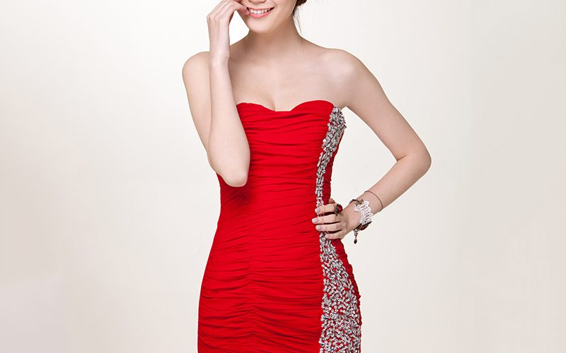 Top red party dresses