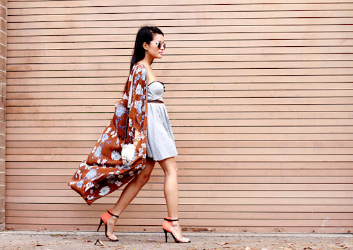How to wear kimonos in summer